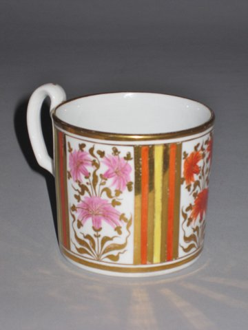 MINTON PORCELAIN COFFEE CAN. CIRCA 1810. - Click to enlarge and for full details.