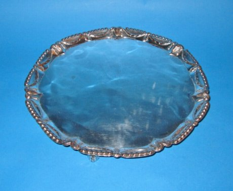 A George III Salver, circa 1765. - Click to enlarge and for full details.