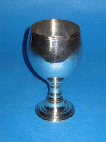 A George III Goblet, by Henry Tudor & Co., circa 1760. - Click to enlarge and for full details.