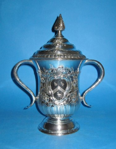 An outstanding very Large George III Cup & Cover, by Tudor & Co., circa 1765. - Click to enlarge and for full details.
