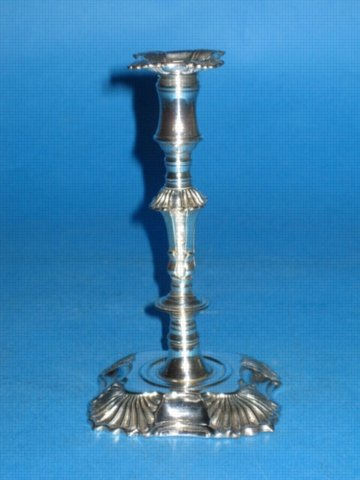A George III Taper Stick, circa 1765. - Click to enlarge and for full details.