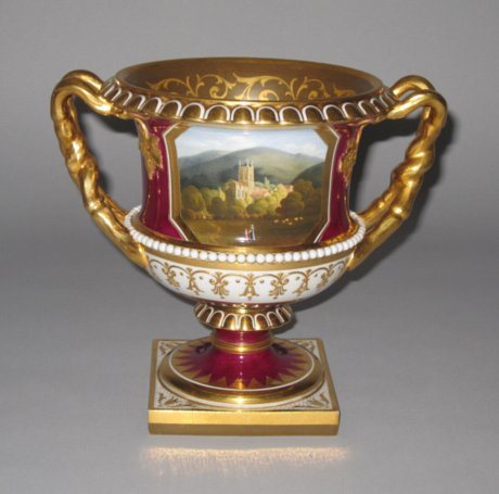 FLIGHT BARR & BARR Campana Vase. Circa 1820. - Click to enlarge and for full details.