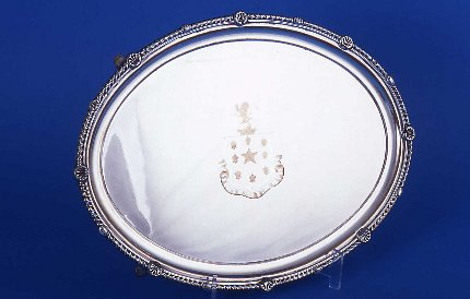 Small Regency salver - Click to enlarge and for full details.