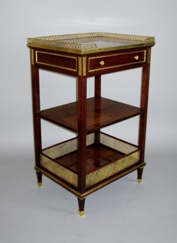 French Etagere, Circa 1820 - Click to enlarge and for full details.