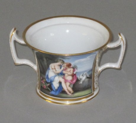 CHAMBERLAINS WORCESTER CUP. CIRCA 1805  - Click to enlarge and for full details.
