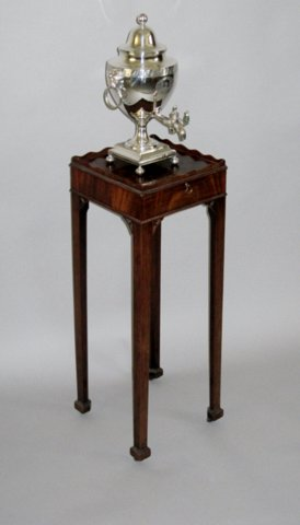 GEORGE III MAHOGANY URN STAND, CIRCA 1775 - Click to enlarge and for full details.
