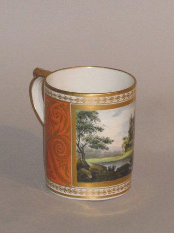 CHAMBERLAINS WORCESTER MUG, CIRCA 1815 - Click to enlarge and for full details.