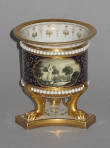 FLIGHT BARR & BARR WORCESTER PORCELAIN VASE, CIRCA 1820 - Click to enlarge and for full details.