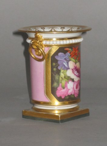 BARR FLIGHT & BARR WORCESTER VASE. CIRCA 1820. - Click to enlarge and for full details.