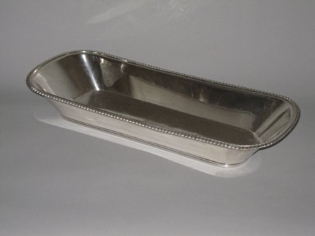 OLD SHEFFIELD PLATE SILVER KNIFE TRAY. CIRCA 1815 - Click to enlarge and for full details.