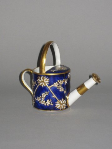 SPODE PORCELAIN MINIATURE WATERING CAN. PATTERN 3153 - Click to enlarge and for full details.