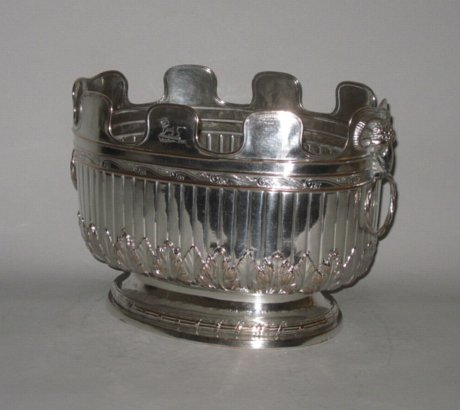 RARE OLD SHEFFIELD PLATE SILVER MONTEITH - Click to enlarge and for full details.