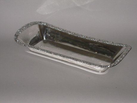AN EARLY 19th CENTURY OLD SHEFFIELD PLATE SILVER KNIFE/CUTLERY TRAY, CIRCA 1810. - Click to enlarge and for full details.
