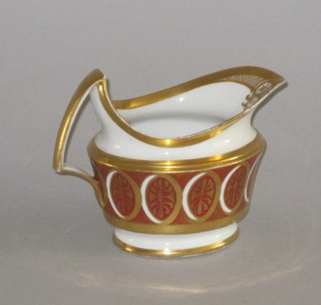 DERBY PORCELAIN CREAM JUG, CIRCA 1795 - Click to enlarge and for full details.