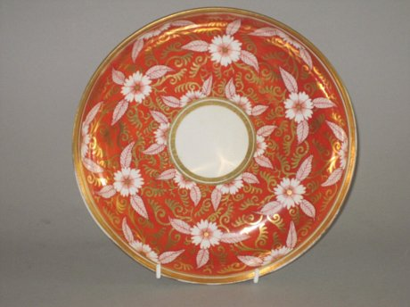 SPODE SAUCER DISH, CIRCA 1810 - Click to enlarge and for full details.