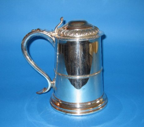 Late 18th Century wine or ale tankard - Click to enlarge and for full details.