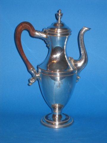 18th Century Old Sheffield Coffee Pot - Click to enlarge and for full details.