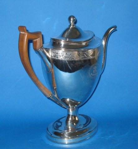 Late 18th Century Old Sheffield Coffee pot - Click to enlarge and for full details.