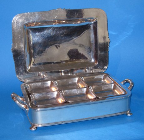 Regency Period Old Sheffield Plate Cheese Warmer - Click to enlarge and for full details.