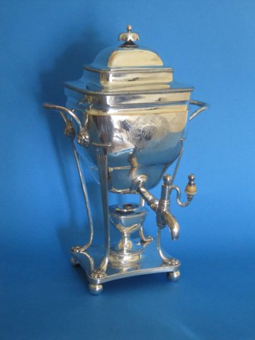 Late 18th Century Tea Urn - Click to enlarge and for full details.