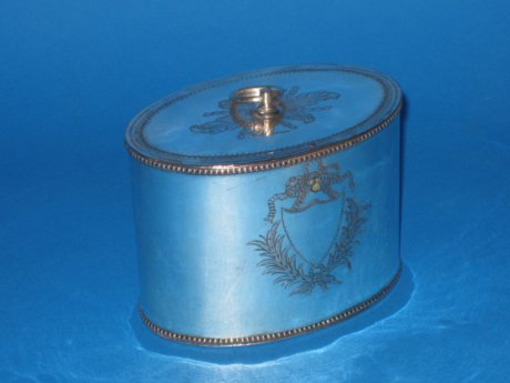Georgian tea caddy - Click to enlarge and for full details.