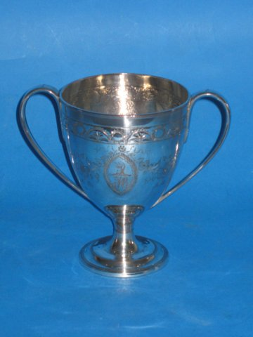 18th Century two handled goblet, circa 1780 - Click to enlarge and for full details.