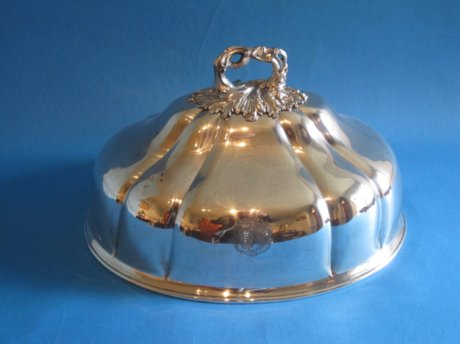 Regency dish cover, circa 1820 - Click to enlarge and for full details.
