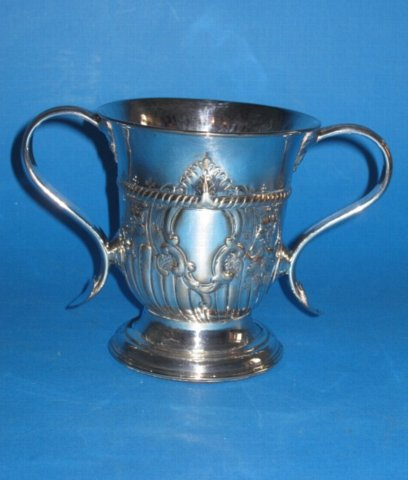 18th Century Loving Cup, circa 1765 by Henry Tudor - Click to enlarge and for full details.