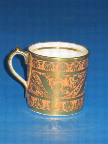 MILES MASON COFFEE CAN. CIRCA 1800 - Click to enlarge and for full details.
