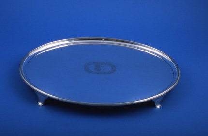 Oval Salver - Click to enlarge and for full details.
