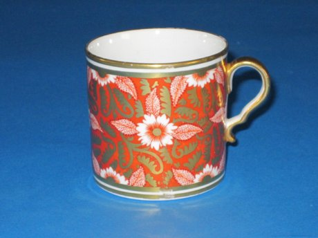Spode Porcelain Coffee Can, circa 1810. - Click to enlarge and for full details.